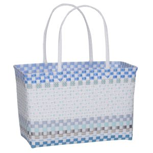 Overbeck and Friends Markttasche Estelle blau medium