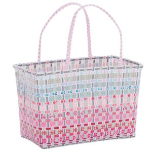 Overbeck and Friends Markttasche Sally rot-pink medium