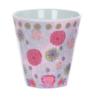 Overbeck and Friends Melamin Becher Lilli-Rose1