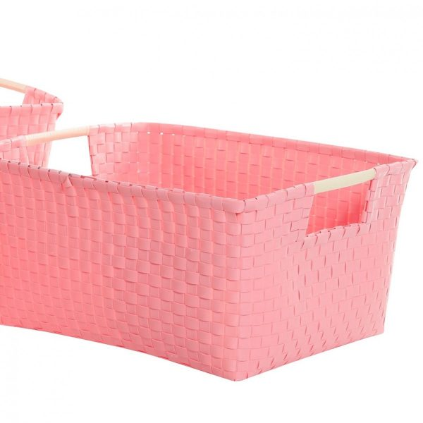 Overbeck and Friends Aufbewahrungskorb Pastell Pink