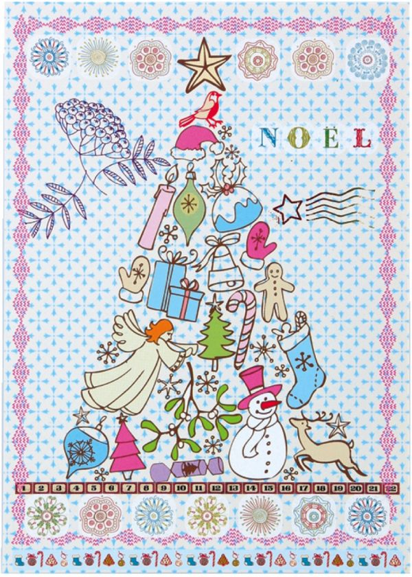 Overbeck and Friends 12er Set Weihnachtskarten – Noel