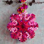 Overbeck and Friends 4er Set Glitzerschmuck rot-fuchsia