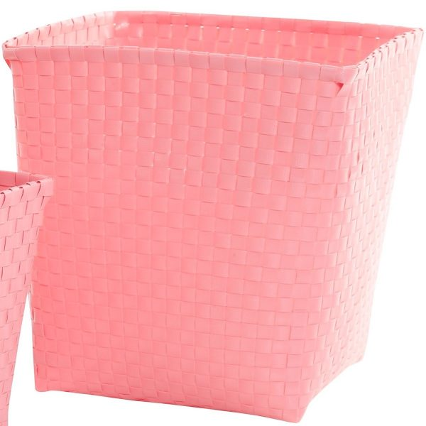 Overbeck and Friends Korb quadratisch Pastell Pink