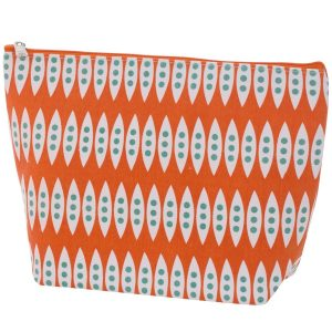 Overbeck and Friends Kosmetiktasche Romy orange