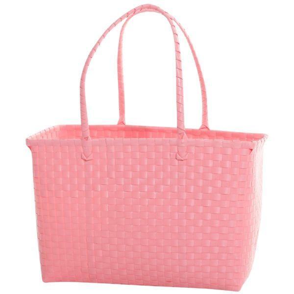 Overbeck and Friends Markttasche Pastell Pink medium