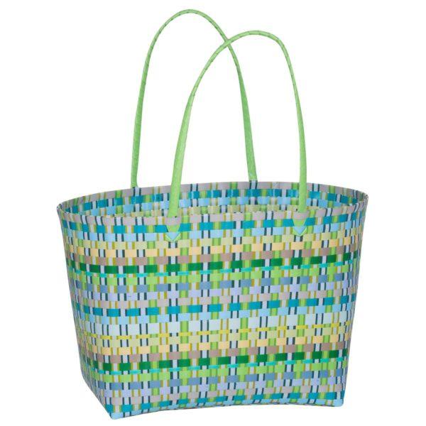 Overbeck and Friends Markttasche Selda grün groß
