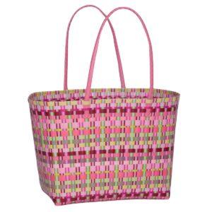 Overbeck and Friends Markttasche Selda rosa groß