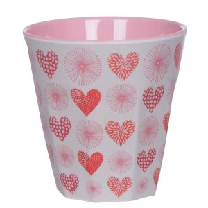 Overbeck and Friends Melamin Becher Valentine 1