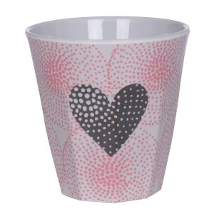 Overbeck and Friends Melamin Becher Valentine 2