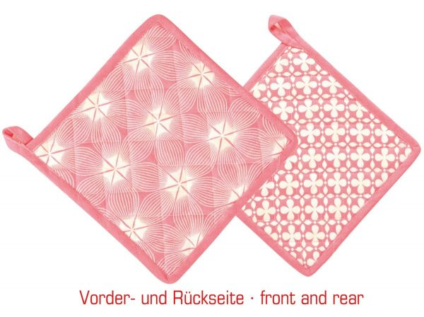Overbeck and Friends Topflappen Liv rot
