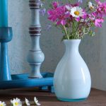 Overbeck and Friends Vase Lola opal aqua