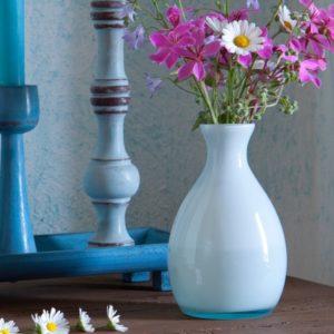 Overbeck and Friends Vase Lola opal aqua