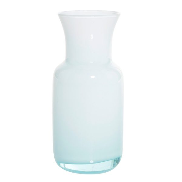 Overbeck and Friends Vase Lina opal aqua blau