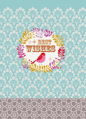 Overbeck and Friends 12er Set Weihnachtskarten - Best Wishes