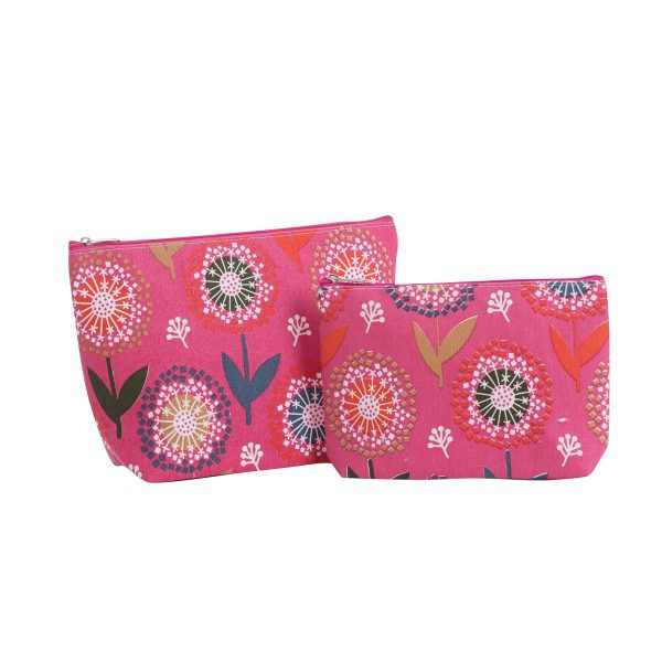 Overbeck and Friends Kosmetiktasche Ines rosa