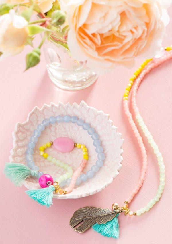 Halskette + Armband Aruba