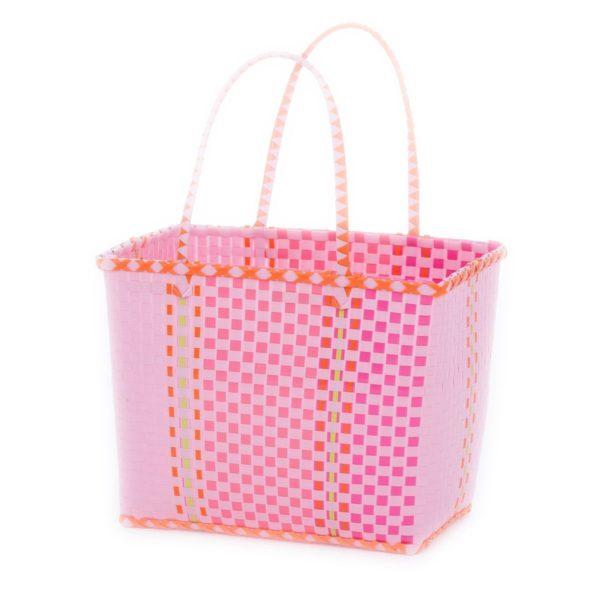 Overbeck Markttasche Fine pink groß