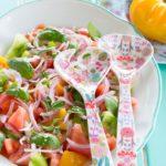 Salatbesteck Lilly-Rose