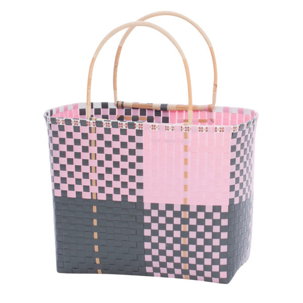 Overbeck and Friends Shopper Ines grau-rosa