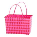 Overbeck and Friends Markttasche Jolie pink-rot medium