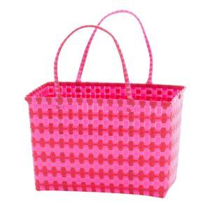 Overbeck and Friends Markttasche Jolie pink-rot medium