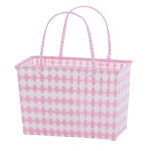 Overbeck and Friends Markttasche Jolie rosé-weiß medium