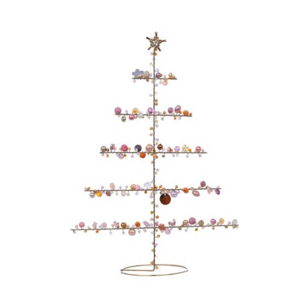 Overbeck and Friends Perlen Dekoration Baum Marigold