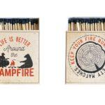 Streichhölzer Campfire
