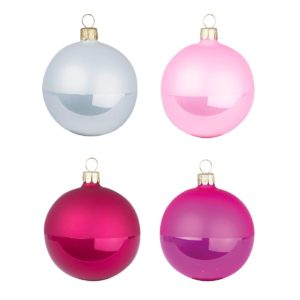 Overbeck and Friends Christbaumkugeln Ruby